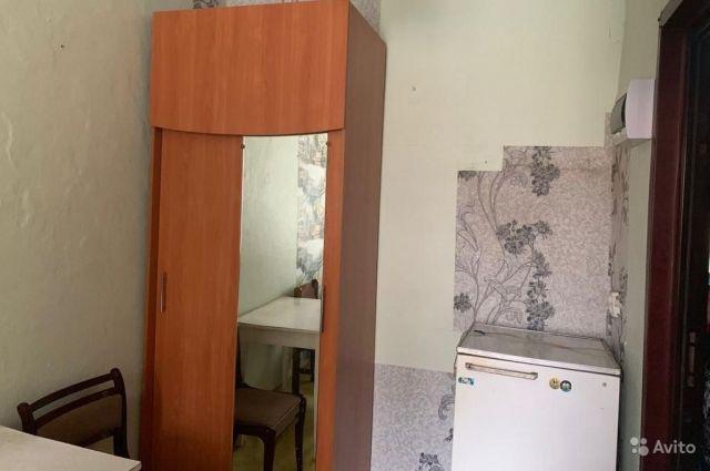 Квартира площадью 10 квадратов в Барнауле.
