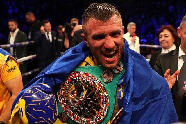 Победа: Василий  Ломаченко выиграл чемпионский титул по версии WBC