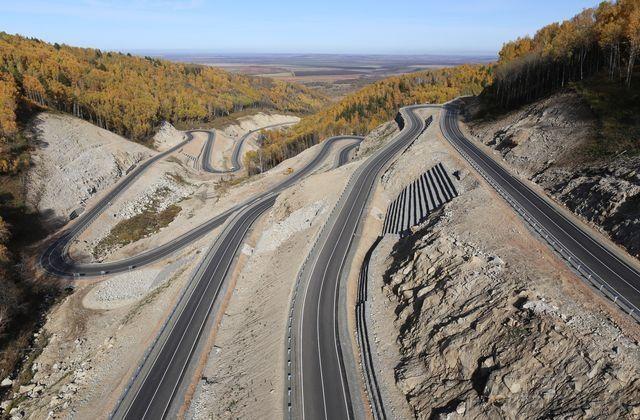 Дорога до туркластера «Белокуриха-2»