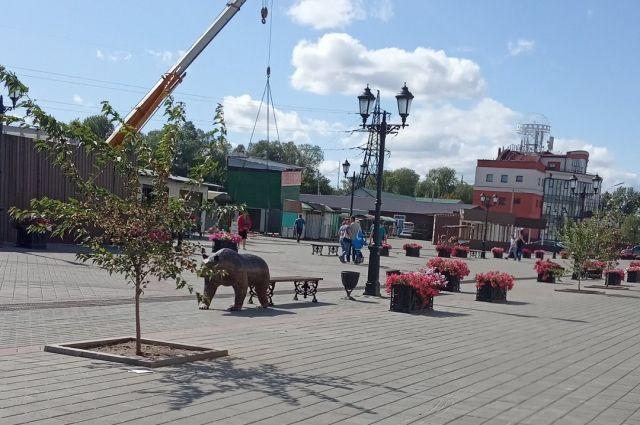 Снос киосков на ул. Мало-Тобольской.