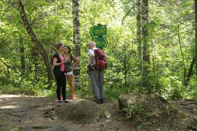 Туристы отходят с троп и теряются.