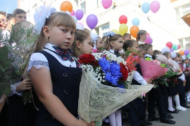 Количество первоклассников в Омской области резко возросло