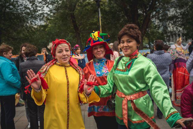 В Оренбурге десятки тысяч горожан отметили День города