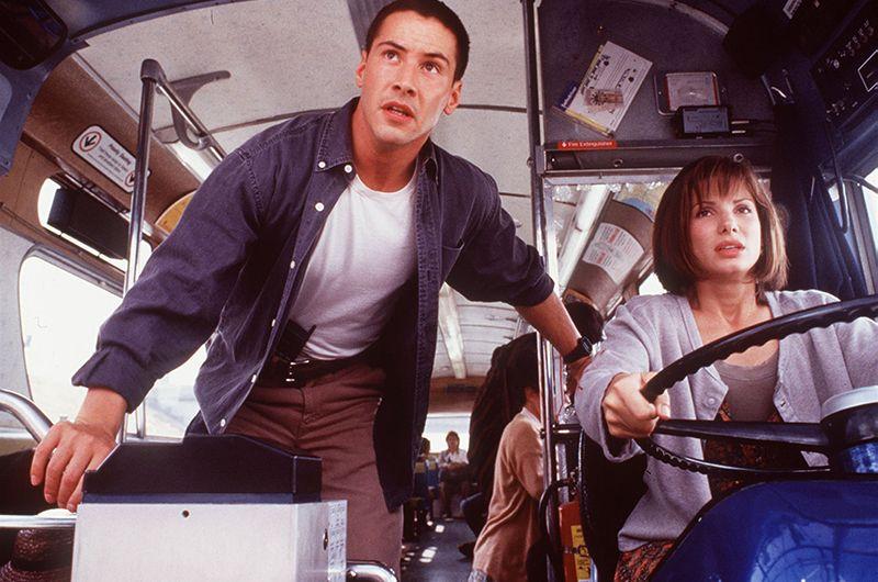 «Скорость» (1994) — офицер Джек Тревен.