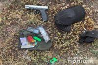 В Киеве задержали мужчину с рюкзаком набитым взрывчаткой