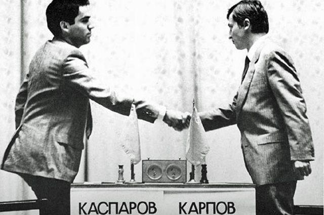 Матч за звание чемпиона мира (1985 год).