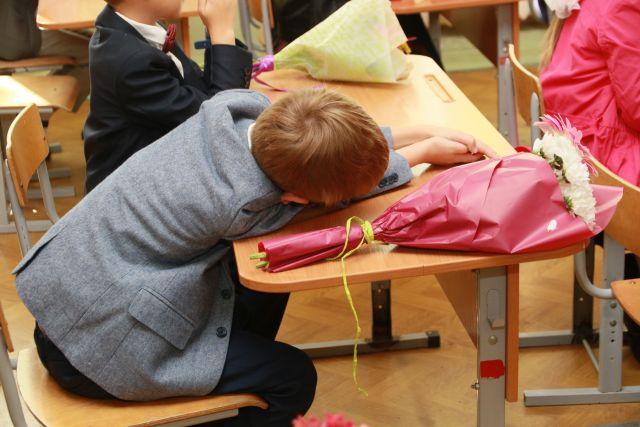 В школы Ижевска пошли почти 10 тысяч первоклассников
