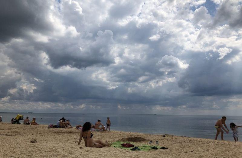 «Пляж 117» в Феодосии.