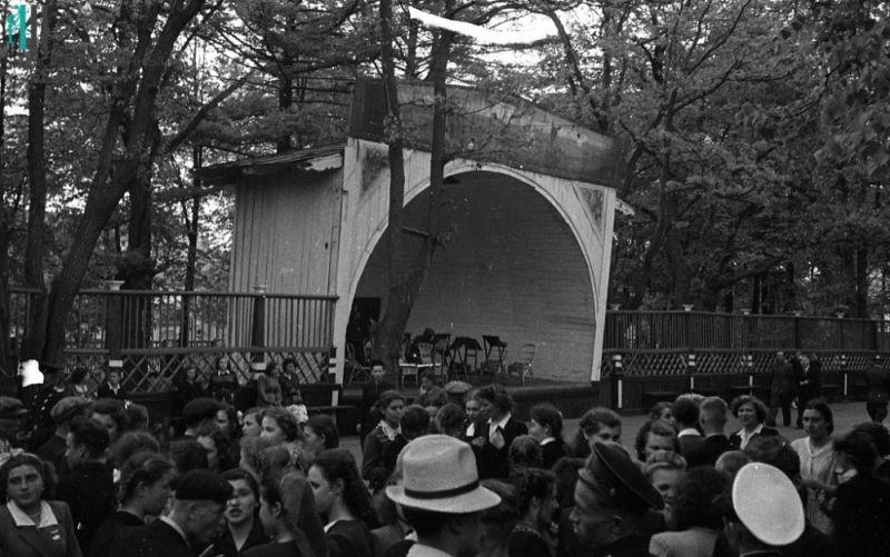 Праздник работников сельского хозяйства, 1955 год.