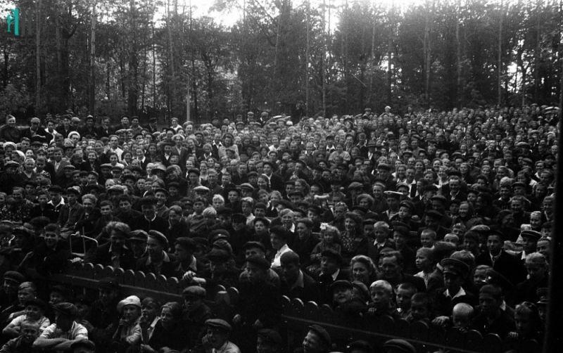 Культмассовые мероприятия, 1955 год.