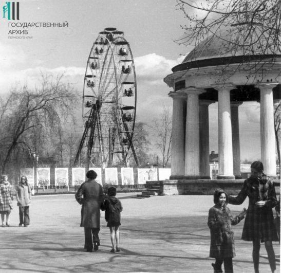 Городской сад имени Горького, 1978 год.