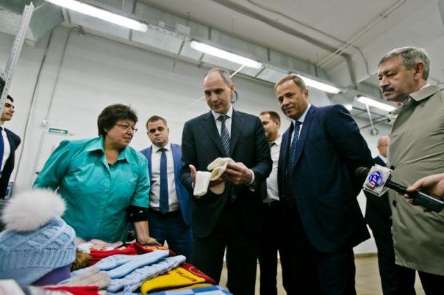 Меры, которые предпринимаются в регионе по развитию малого и среднего бизнеса, показали на примере индустриального парка.