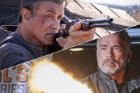 Кадры из фильмов «Рэмбо: Последняя кровь» и «Терминатор: Темные судьбы».