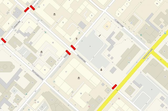 В Тюмени до 30 октября перекрыли участки улиц Семакова и Хохрякова