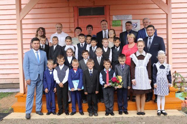 В начальной школе Куяды всего три девочки и 15 мальчишек.