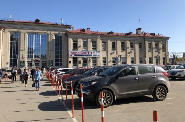 Стоимость казанском 1 парковка на час вокзале мужские ломбард часы золотые