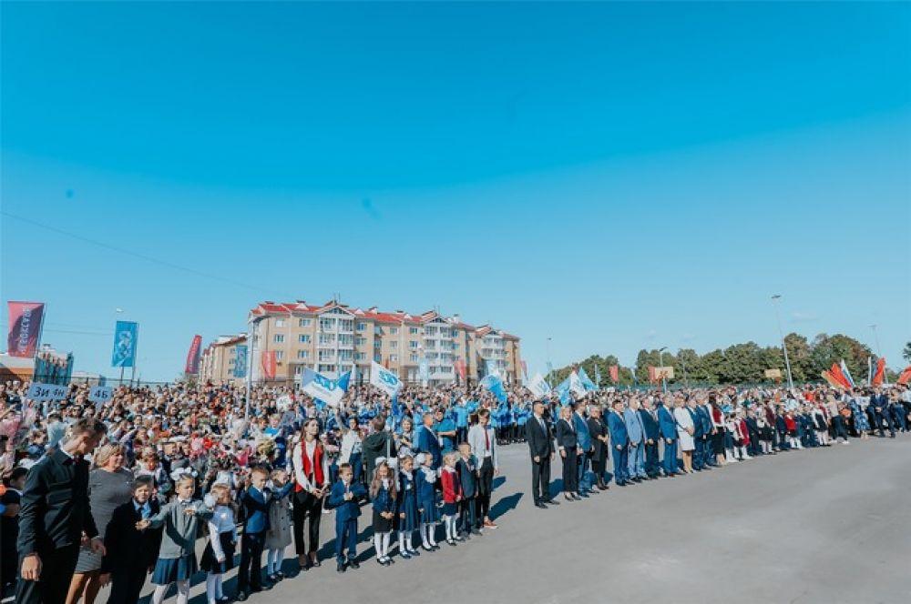 Новый корпус гимназии рассчитан на 1100 учащихся