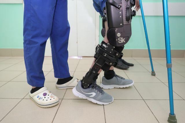 Экзоскелет проходит апробацию в нижегородской городской больнице № 33