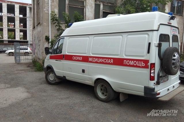 В Удмуртии женщина-водитель на иномарке вылетела в кювет