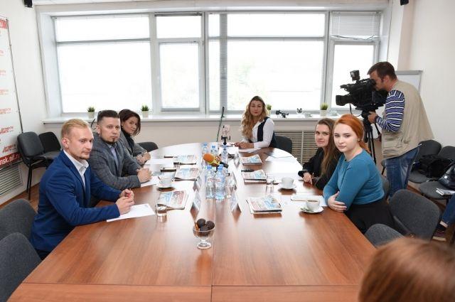 В «АиФ на Оби» прошла пресс-конференция о первой Сибирской Биеннале