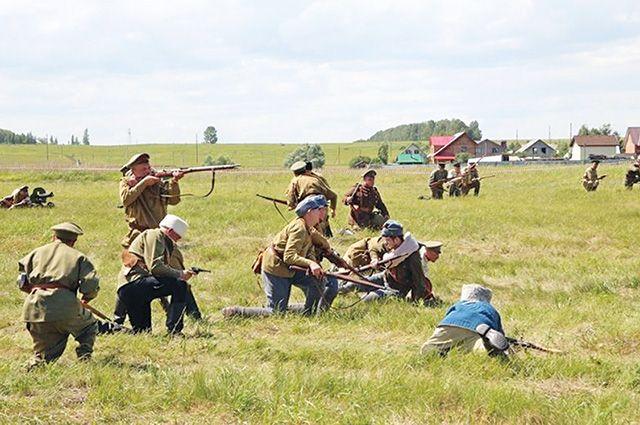 Военная реконструкция Уфимской операции 1919 года «Гроза над Белой».