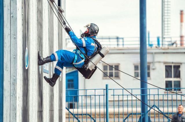 Омский НПЗ поддерживает высокие стандарты промышленной безопасности