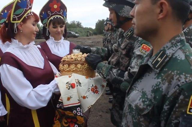 В Оренбуржье на масштабные учения прибыли военные из Китая