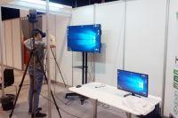 Посетителям форума в том числе показали комплекс виртуальной обучающей системы по иностранным языкам.