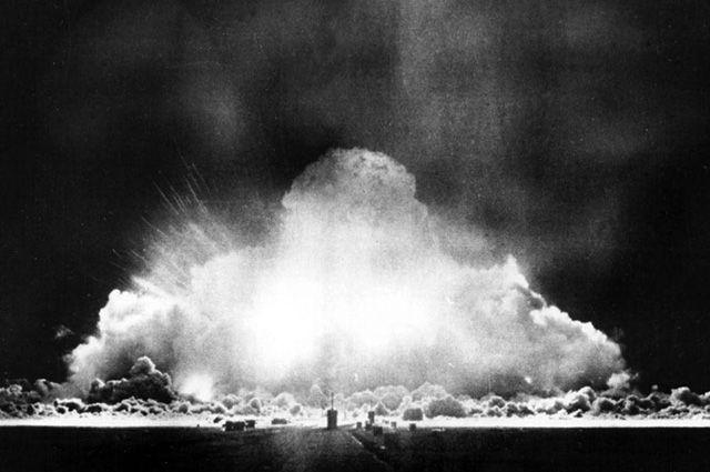 Первый ядерный взрыв в СССР. Семипалатинский полигон, 29 августа 1949 г.