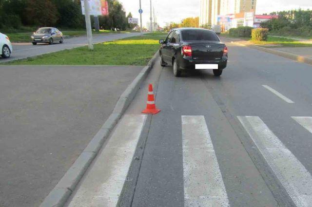 В Ижевске молодой водитель сбил 8-летнего мальчика