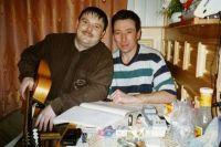 Михаил Круг и Леонид Телешев.