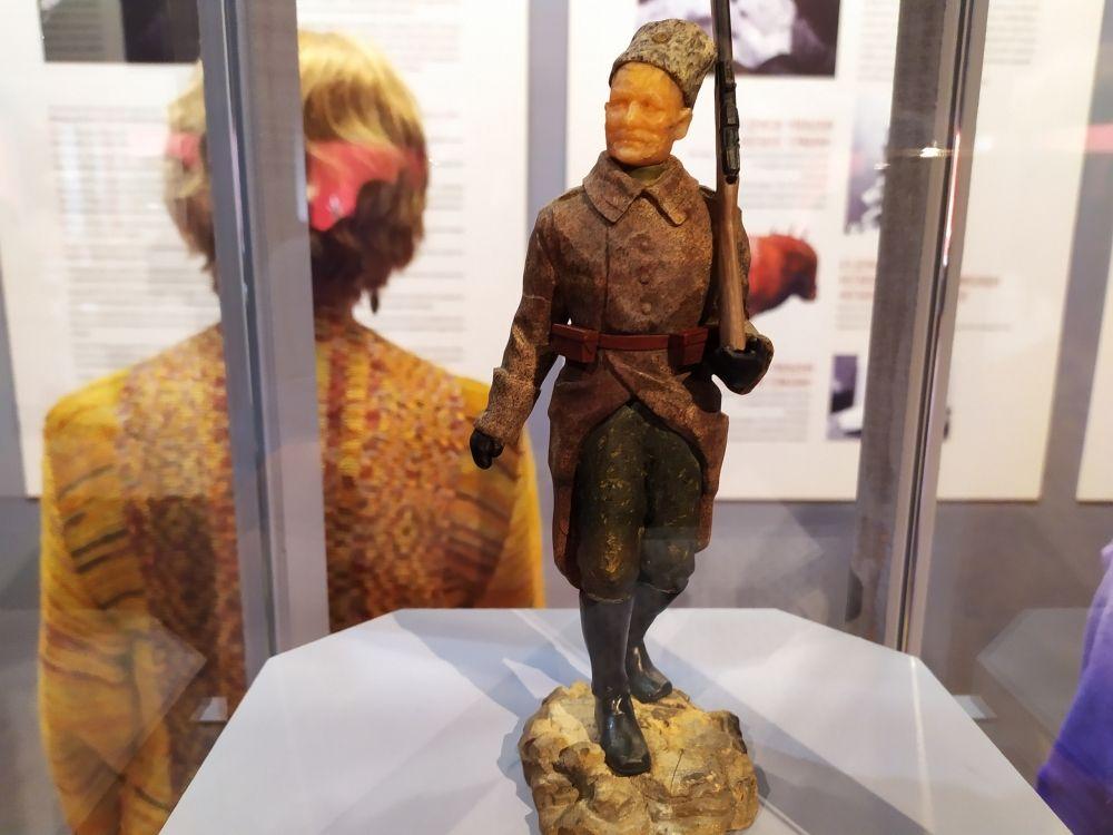Фигура «Русский солдат». Она не входила в серию «Воюющие державы».