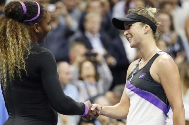 Свитолина проиграла Серене Уильямс в полуфинале US Opev