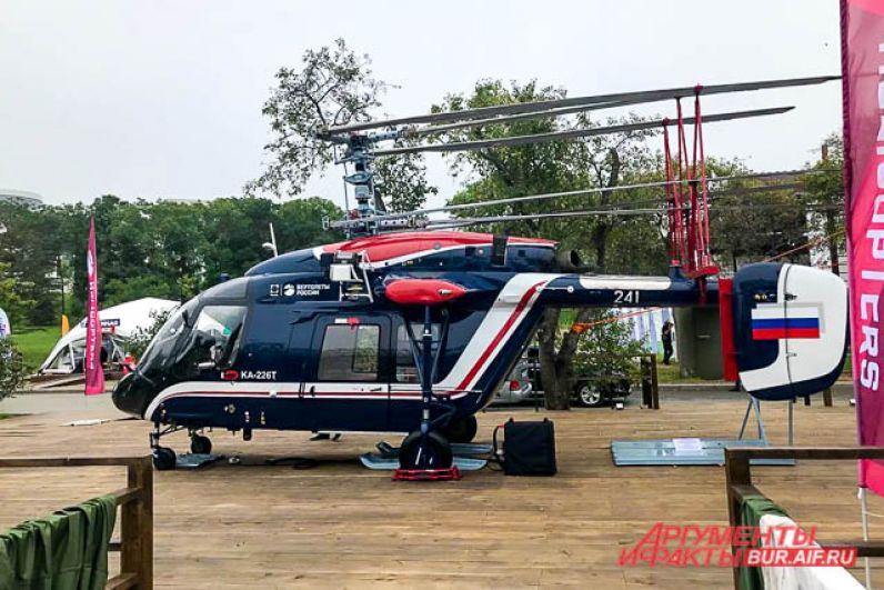 Гордость республики – вертолёты. Это – Ка-226Т, сделанный по заказу индийской стороны