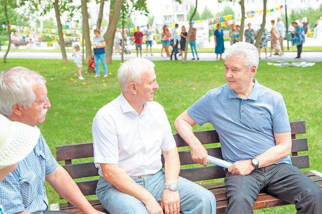 Мэр Москвы Сергей Собянин на встрече с ветеранами обсудил необходимые шаги в социальной сфере города.