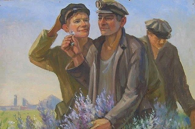 Картина Петра Грибинюка из фондов музея.
