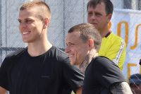 Павел Мамаев и Александр Кокорин в исправительной колонии № 4 города Алексеевки Белгородской области.