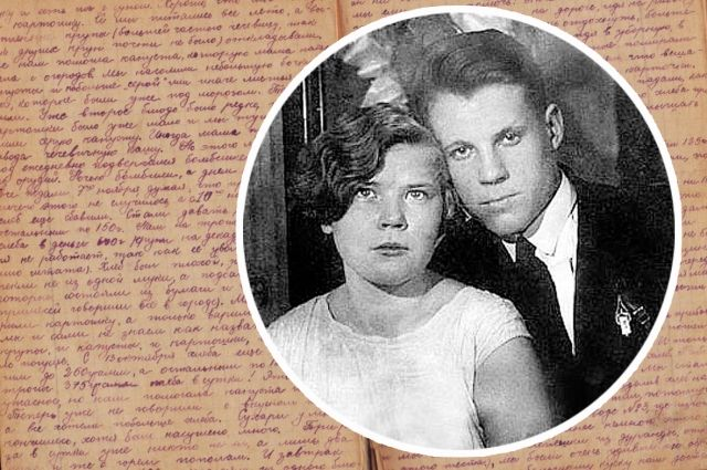 Ангелина Крупнова-Шамова с супругом, свадебное фото. 27 декабря 1932 г.