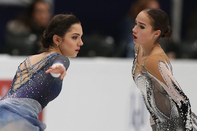 Алина Загитова выйдет на лёд вслед за Евгенией Медведевой.