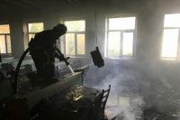 В Запорожье произошел пожар в политехническом университете