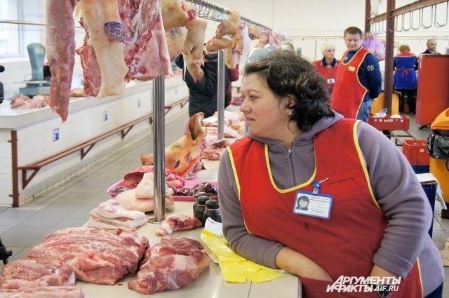 Оптовая цена на свинину выросла