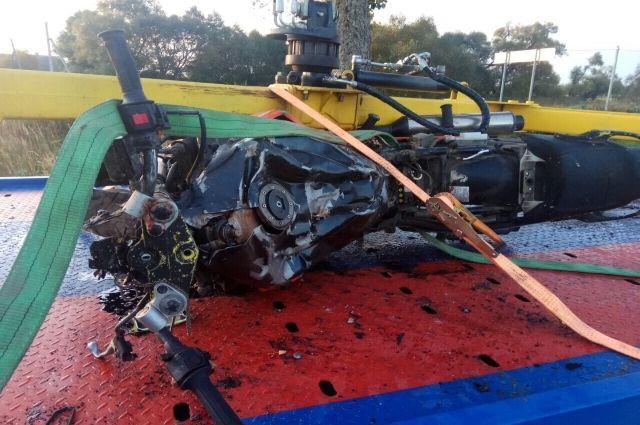 В Гурьевском районе в ДТП погибли мотоциклист и его пассажир