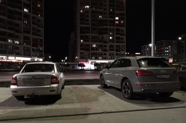 Жители Европейского призывают соседей парковаться грамотно