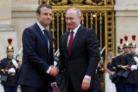 Путин и Макрон обсудили встречу в «нормандском формате»