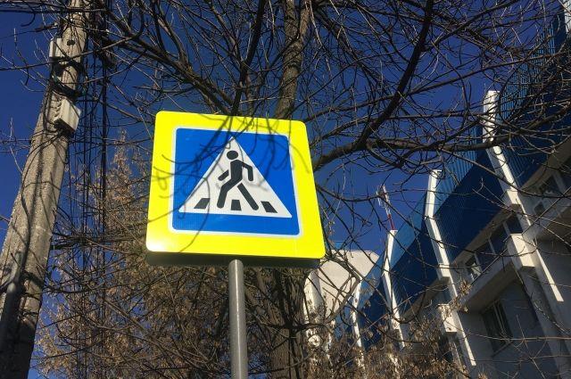 Система фиксирует нарушения ПДД на пешеходе.