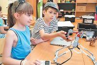Робототехника увлекает детей с дошкольного возраста.