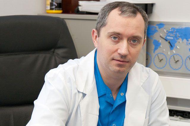 Реабилитолог Александр Шишонин.