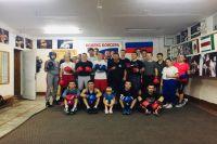 Тренеры и воспитанники спортшколы