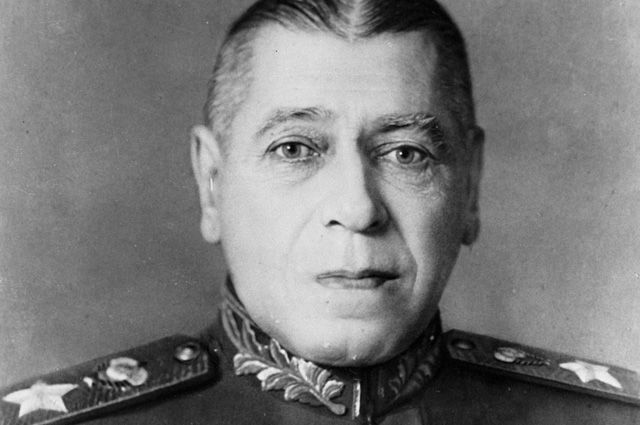 Борис Михайлович Шапошников.