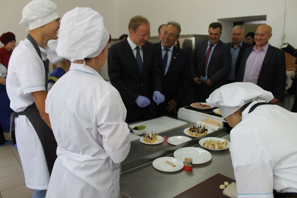 В лицее обучают профессиям, которые входят в топ-50 самых востребованных специальностей агропромышленного профиля региона и России